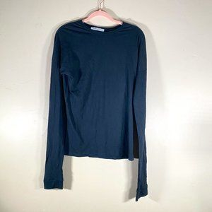 Project Social T Black Long Sleeve Tee Size Small